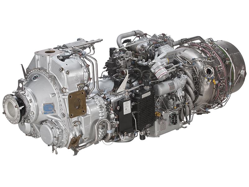 Pratt & Whitney PW100 Engine